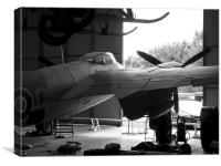 de Havilland Mosquito aircraft, Canvas Print