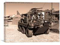 All-Terrain Mobility Platform (ATMP) 'Supacat', Canvas Print