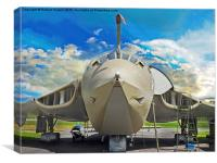 Handley-Page Victor K2 Lusty Lindy, Canvas Print