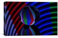 Abstract art Crystal Ball 2, Canvas Print