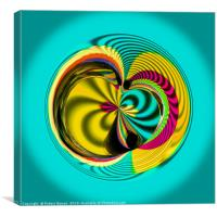 Variations in the sphere, Canvas Print