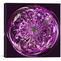 Spherical Purple Haze, Canvas Print