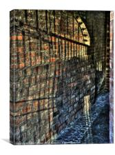 Shadows of York, Canvas Print