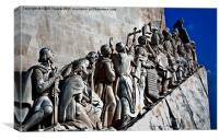 Monument To The Discoveries Canvases & Prints, Canvas Print