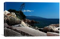 Agia Efimia, Kefalonia, Greece. Canvases & Prints, Canvas Print