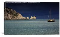 The Needles - Calm before the Storm, Canvas Print