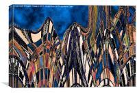 Metropolis, Canvas Print