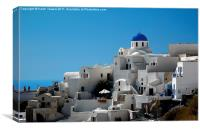 Oia, Santorini, Greece, Canvas Print