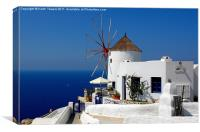 Oia Windmill, Santorini, Greece
