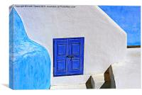 Oia, Santorini, Canvases & Prints, Canvas Print