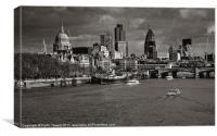 London skyline Westminster Bridge Canvases & Print, Canvas Print