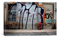 Bairro Alto, Lisbon, Portugal Canvases & Prints, Canvas Print