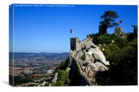 Portugal, Castelo dos Mouros, Sintra, Canvases, Canvas Print