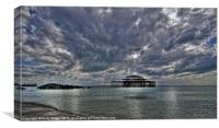 Clouds over the West Pier