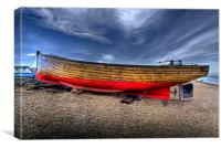 Fishing boat on Deal beach