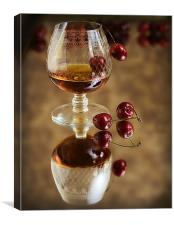 Cherry Brandy, Canvas Print