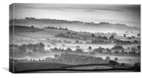 Morning Mists, Canvas Print