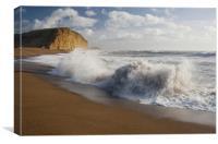 East Beach waves, Canvas Print