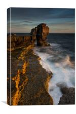 Pulpit rocks,, Canvas Print