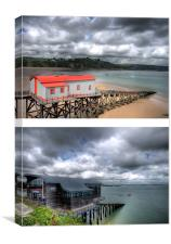 Tenby Lifeboat Stations, Canvas Print