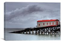 Old Lifeboat Station, Tenby, Canvas Print