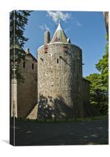 Castell Coch, Canvas Print