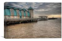 Penarth Pier, Canvas Print