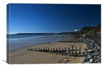 Amroth Pembrokeshire, Canvas Print