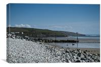 Amroth Beach, Canvas Print