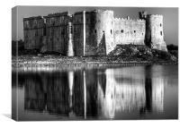 Carew Castle Pembrokeshire, Canvas Print