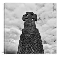 Celtic Cross, Canvas Print