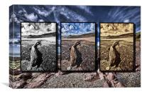 Manorbier Triptych, Canvas Print