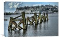 Cardiff Bay Old Jetty, Canvas Print