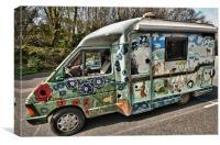 Camper Van, Canvas Print