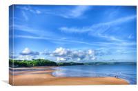 Saundersfoot Beach 2, Canvas Print