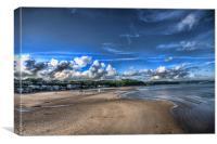 Saundersfoot Beach 3, Canvas Print