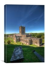 St Davids Cathedral Pembrokeshire 5, Canvas Print
