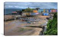 Tenby Harbour 2, Canvas Print