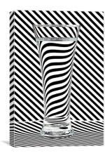 Striped Water, Canvas Print