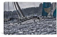 Extreme 40 Catamarans Racing, Canvas Print