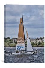 Extreme 40 Team SAP Extreme, Canvas Print
