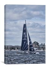 Extreme 40 Team Groupe Edmond De Rothschild, Canvas Print