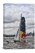 Extreme 40 Team Red Bull, Canvas Print