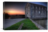 Carew Tidal Mill Pembrokeshire, Canvas Print