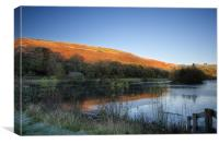 Autumn Pond 3, Canvas Print
