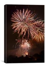 Fireworks 3, Canvas Print