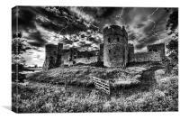 Storm the castle, Canvas Print