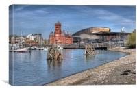 Cardiff Bay, Canvas Print