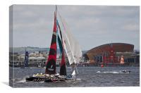 Extreme 40 Catamaran Racing 3, Canvas Print