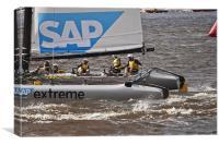 Extreme 40 Catamaran Racing 5, Canvas Print